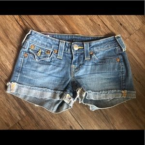 True Religion Women Shorts Size 26